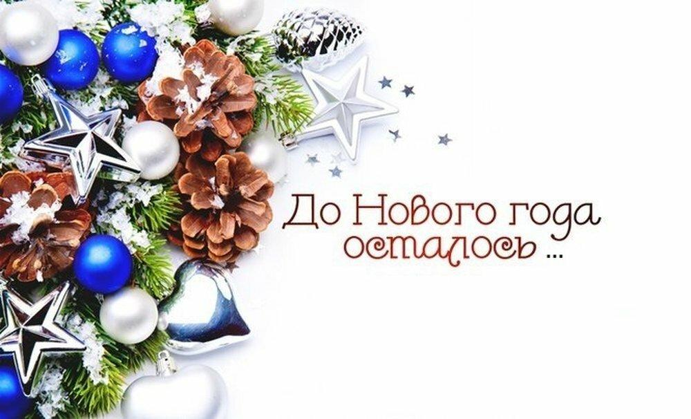 Сколько дней до нового года осталось картинки