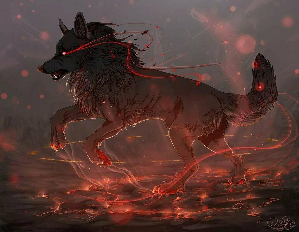 случайно, мистические арты волков изготавливается современном итальянском