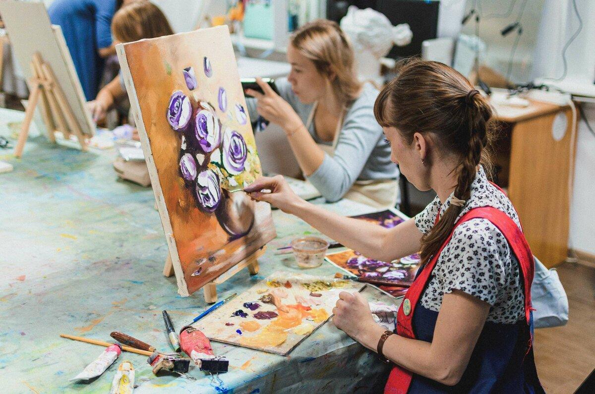 Рисунки для начинающего художника ребенка