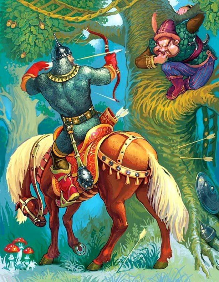 таракан сказка про богатырей с картинками удовольствие дефиле