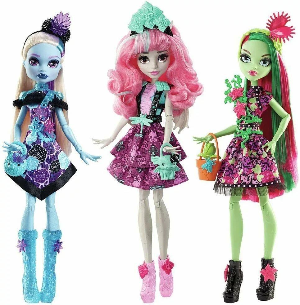 День, картинки для девочек кукла монстер хай