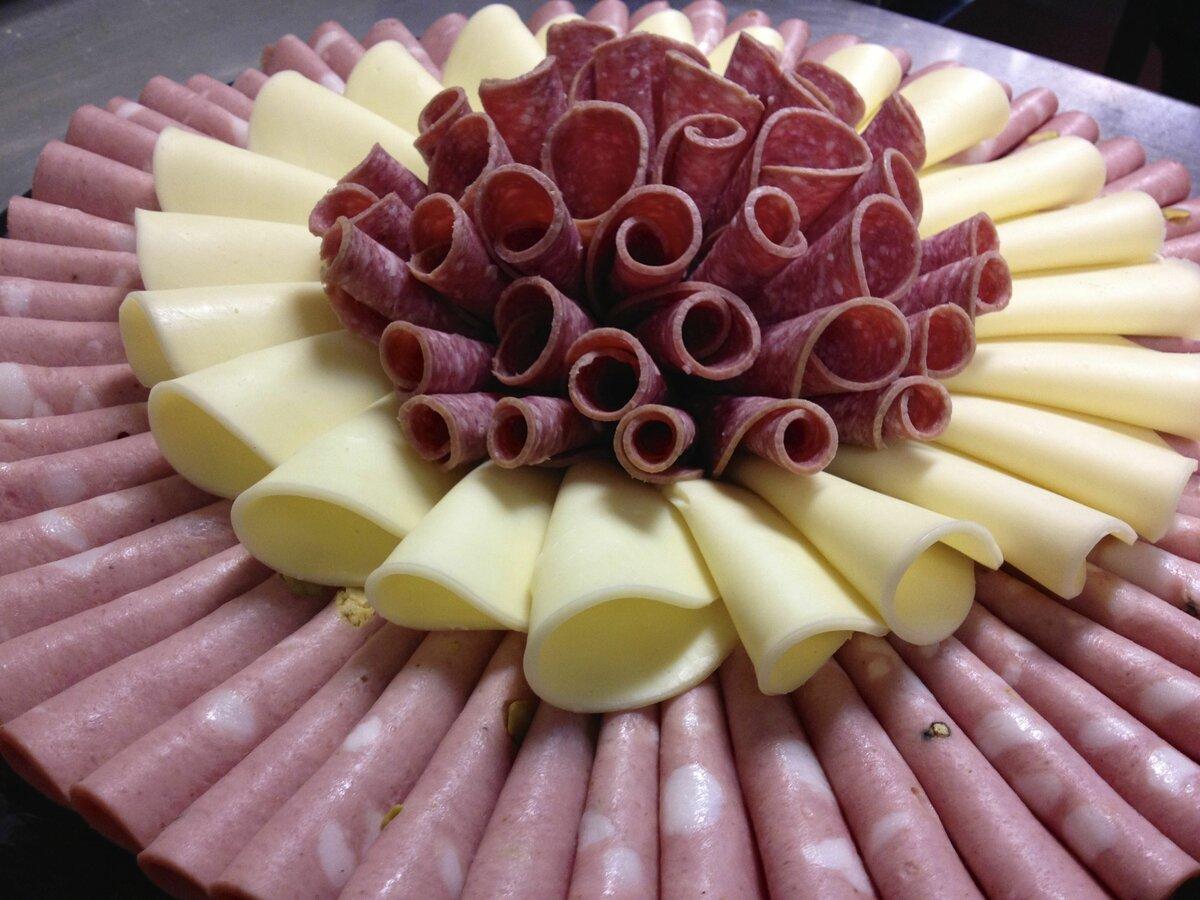нарезка колбас и сыров красиво в картинках кто