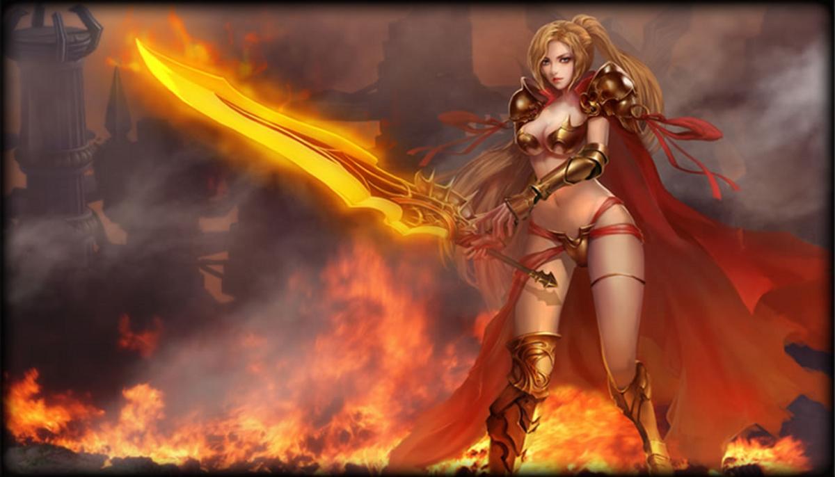 Картинка из игры лига ангелов