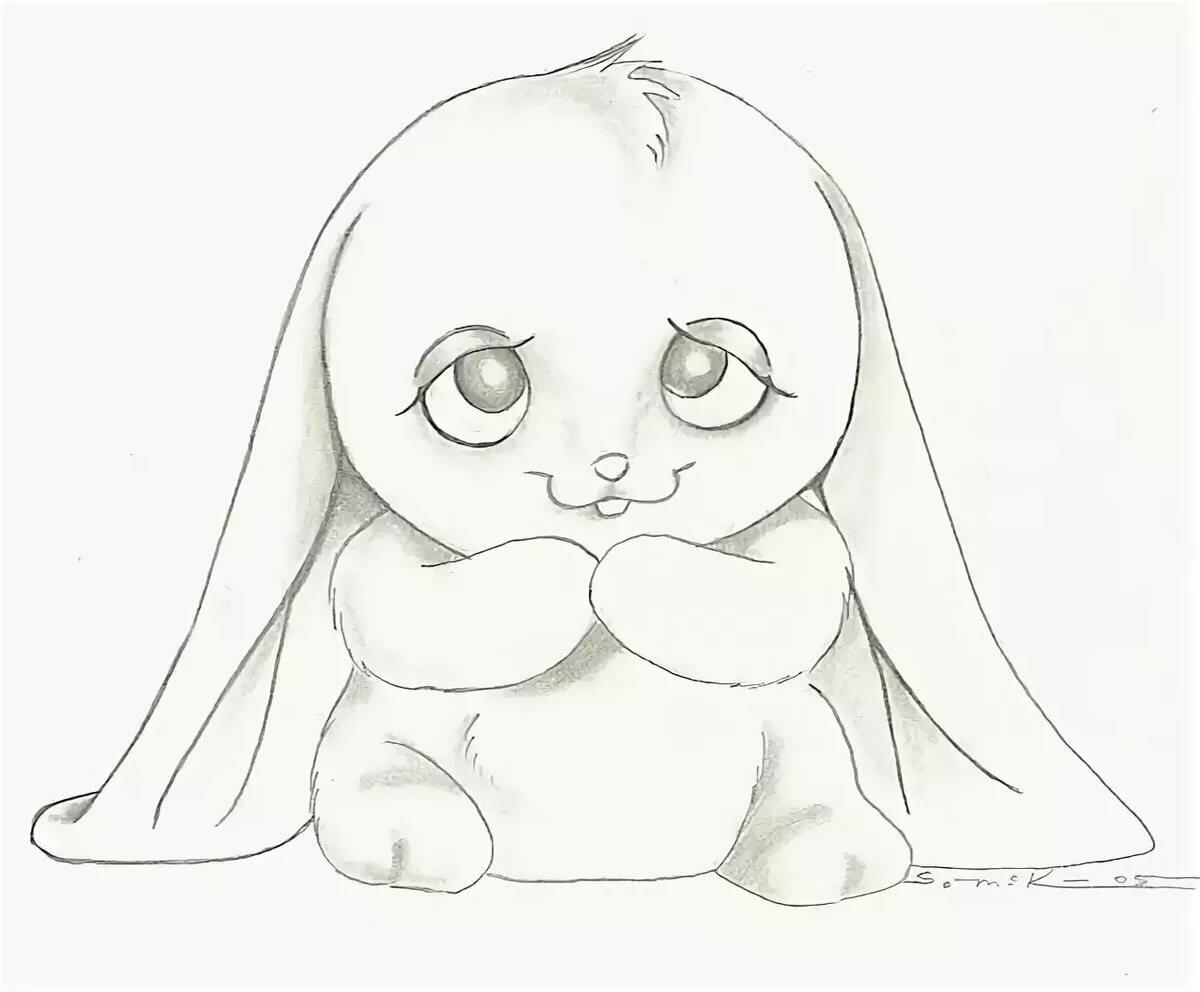 Картинка рисунок карандашом легкий для срисовки