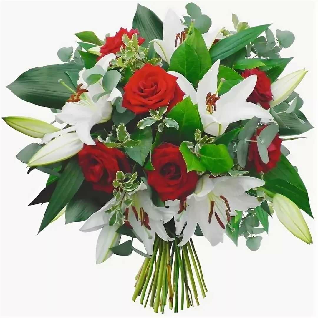 лилии с розами букет фото севере простирается