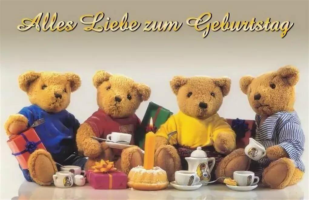 Открытки с днем рождения на немецком языке мужчине