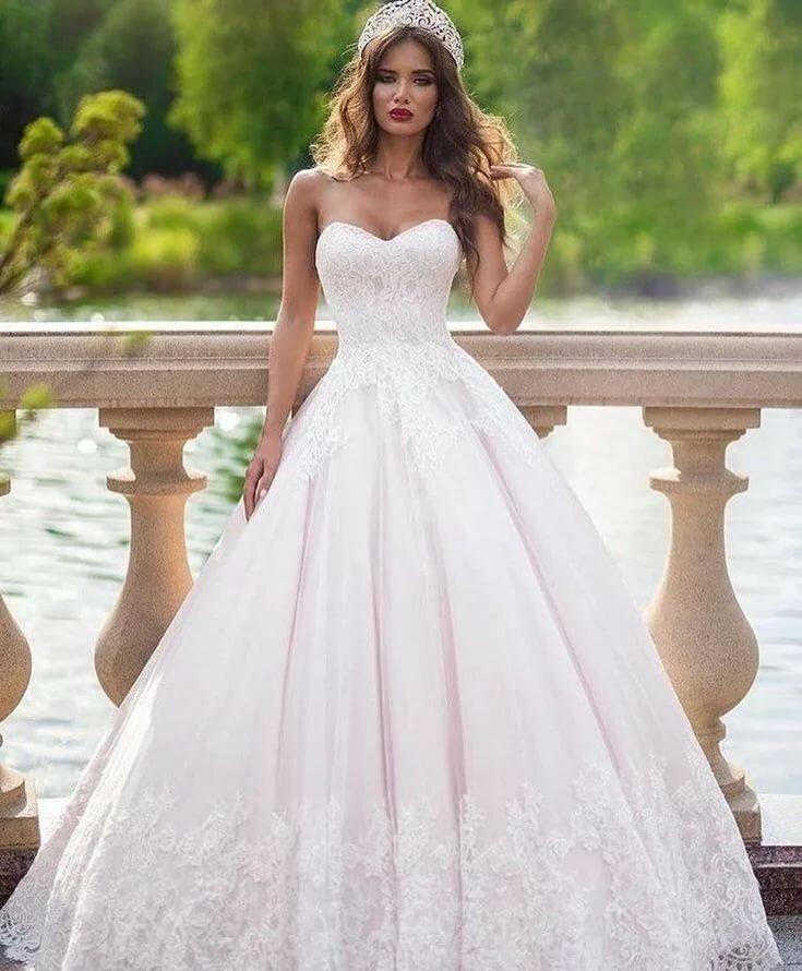 Картинки свадебные платья пышные и красивые, картинки