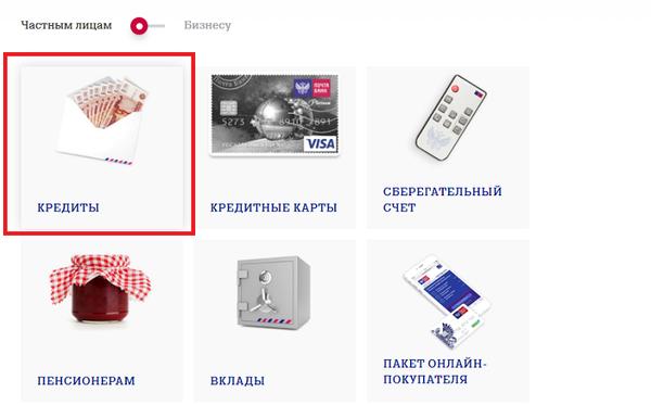 рефинансирование кредитов в втб банке самара