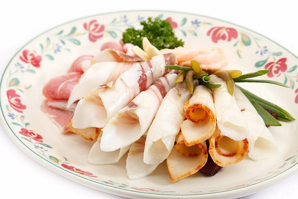 Холодные блюда закуски картинки
