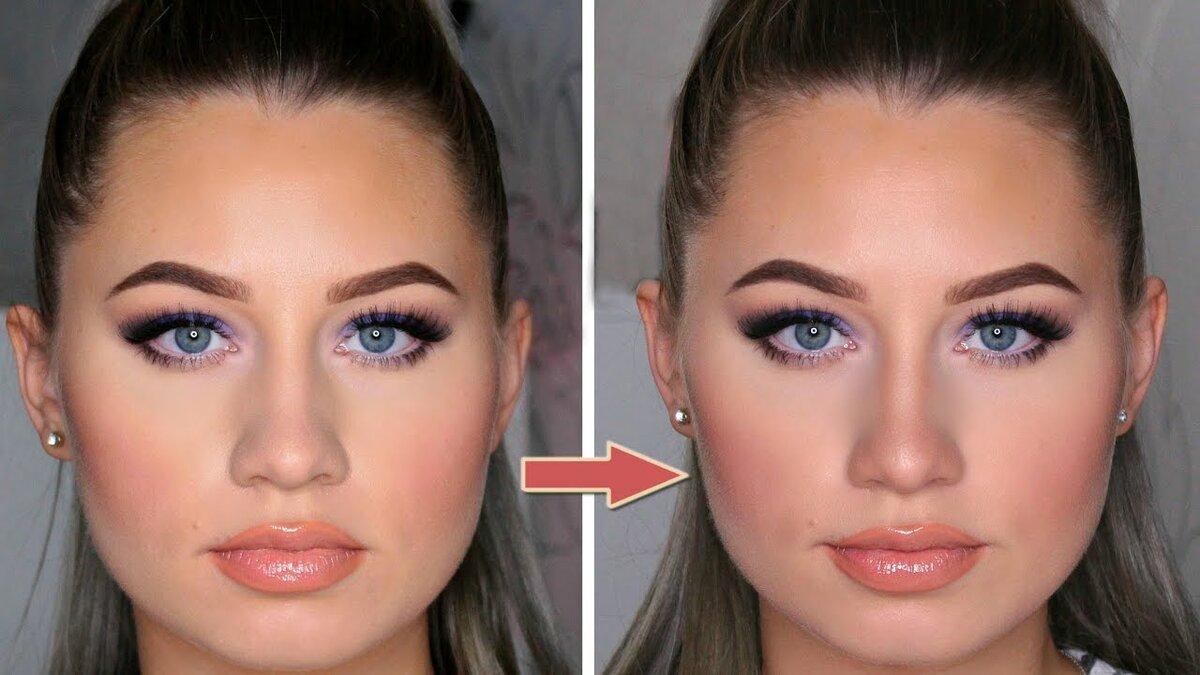 еще как сделать нос меньше на фотографии хотите, чтобы