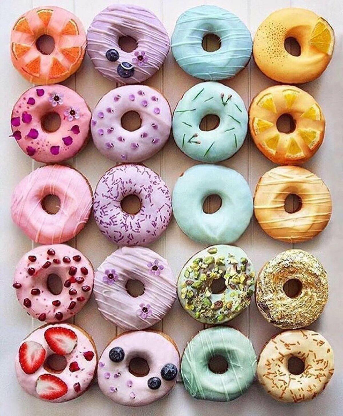 Красивые картинки пончика