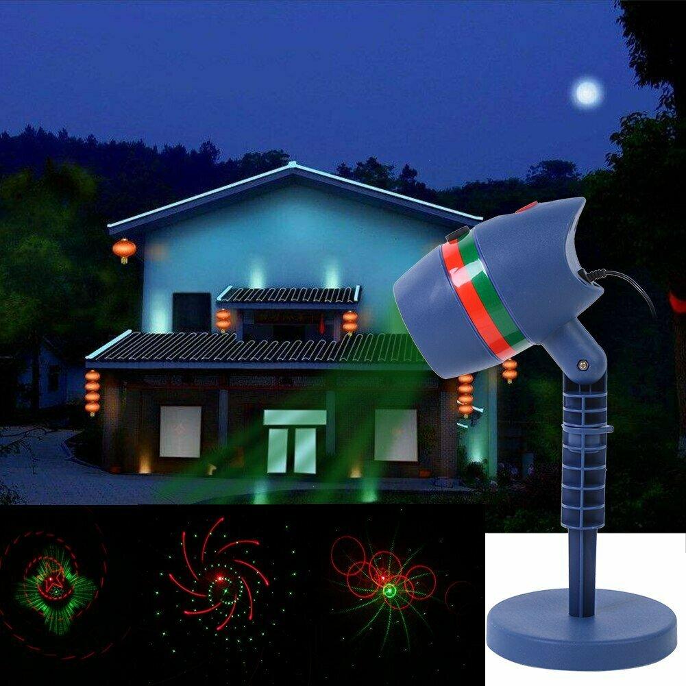 Лазерный проектор для Рождества в Ноябрьске