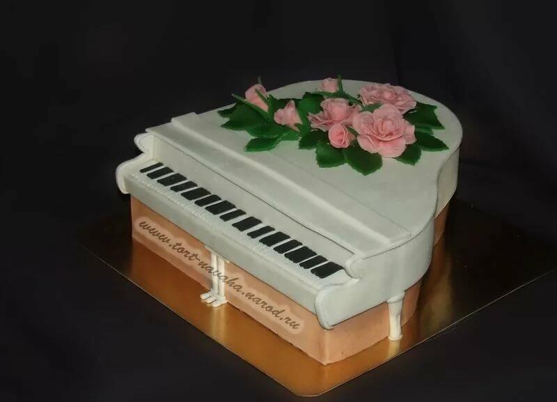 торт пианино фото вам