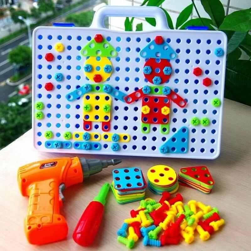 Детский развивающий конструктор Create and Play в Шалкаре