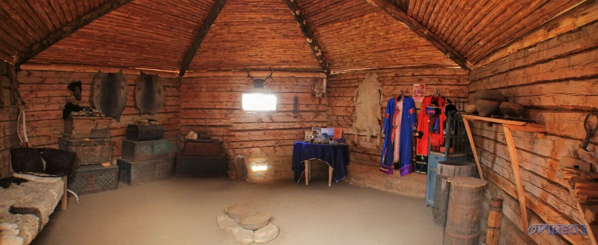 строительство деревянной юрты 8 стенки