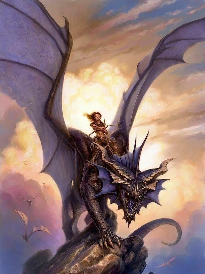 Картинка повелитель драконов