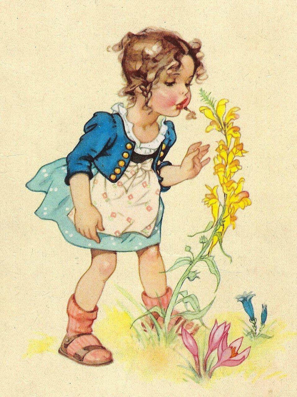 Маме марта, немецкие ретро открытки