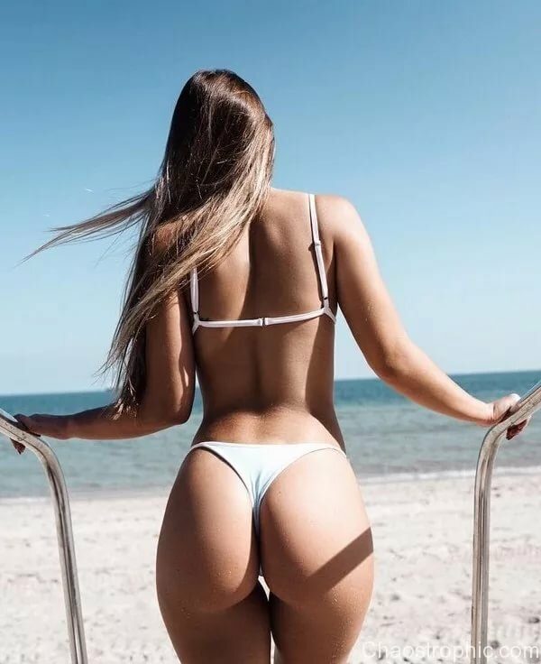 Sexy girls in thong