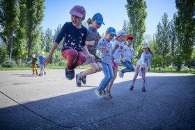 Спорт в летнем лагере