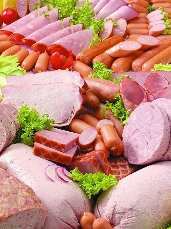 Картинки мясо и колбаса