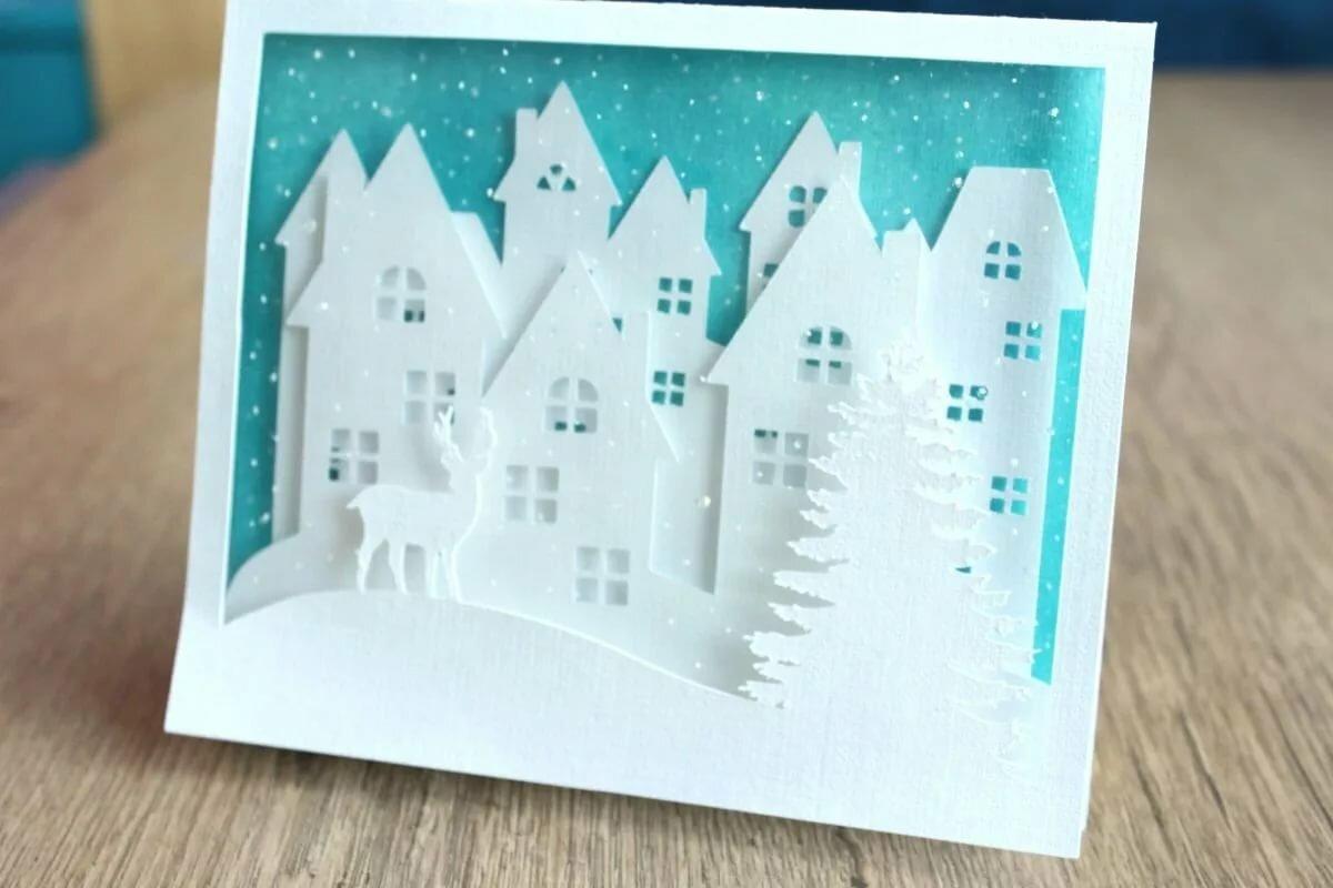 книга, красивые открытки из белой бумаги заметить, что