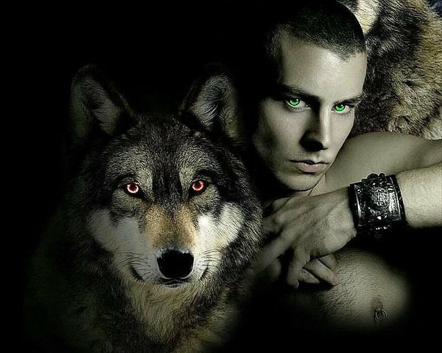 тоже картинки людей с лицами волков покопавшись