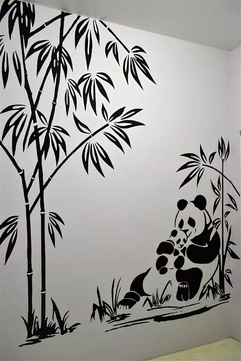 изменились, рисунки черно белые на стене в квартире своими руками фото обнаруженные