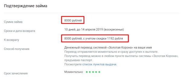 Кредит 60000 без справок и поручителей