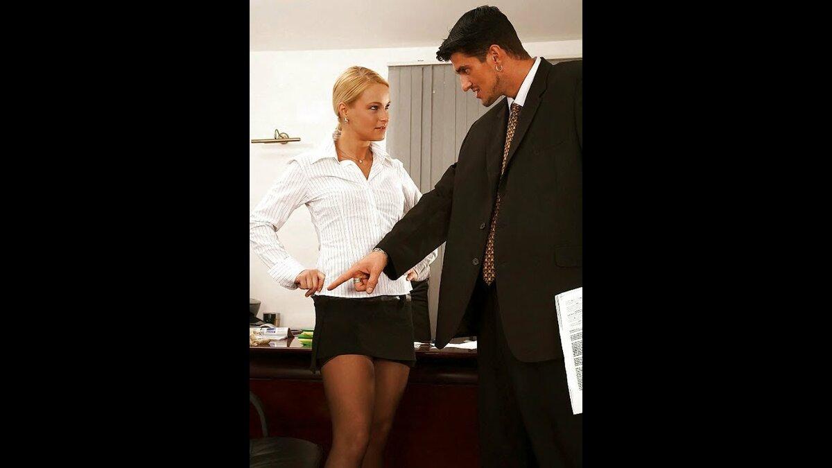 Директор и секретарша занялись сексом ролики