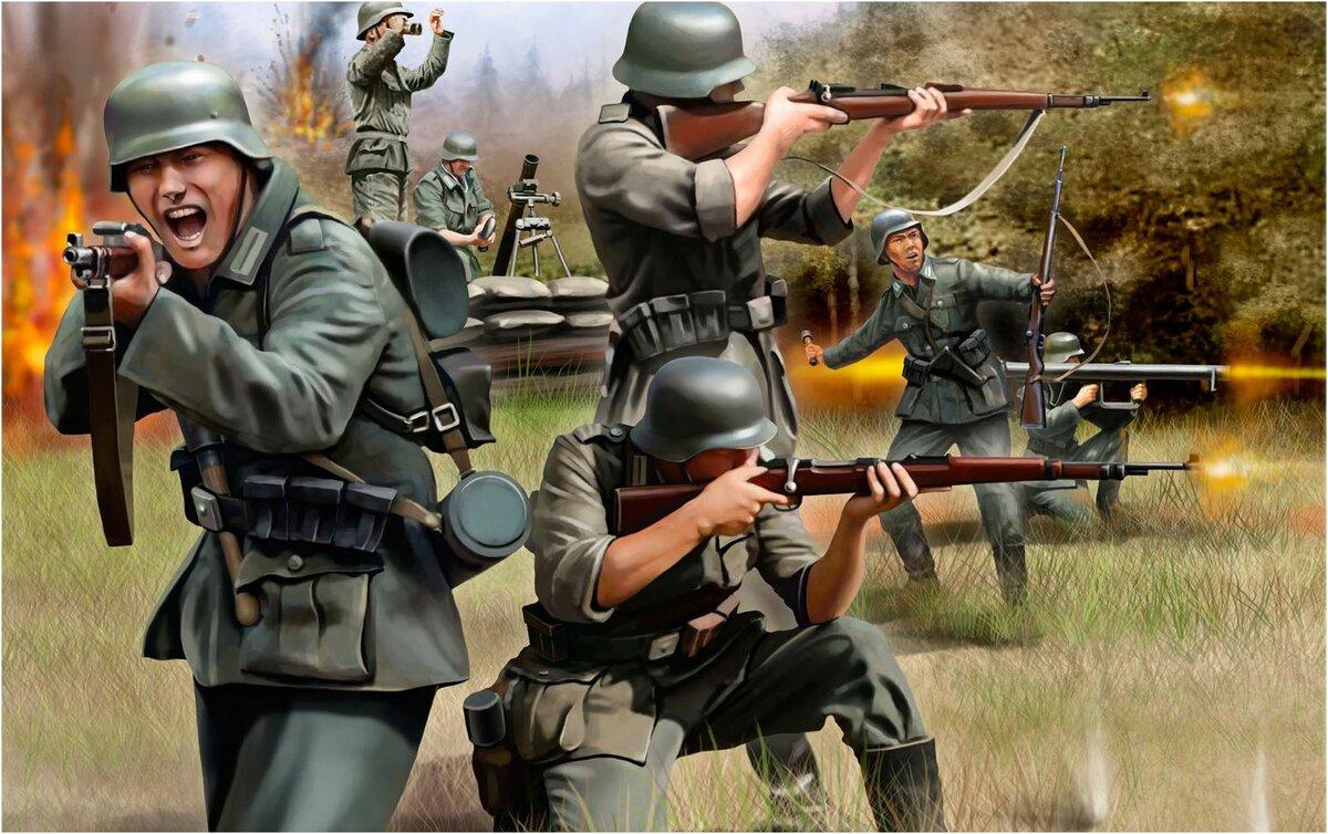 Пехота вермахта картинки