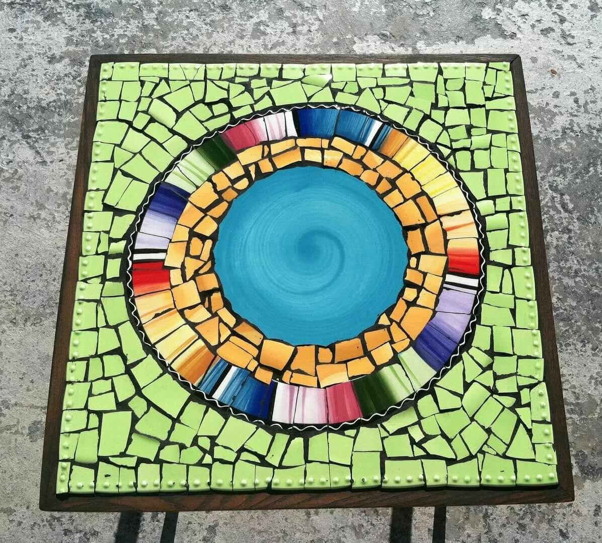 картинки для мозаики из битой плитки красивые
