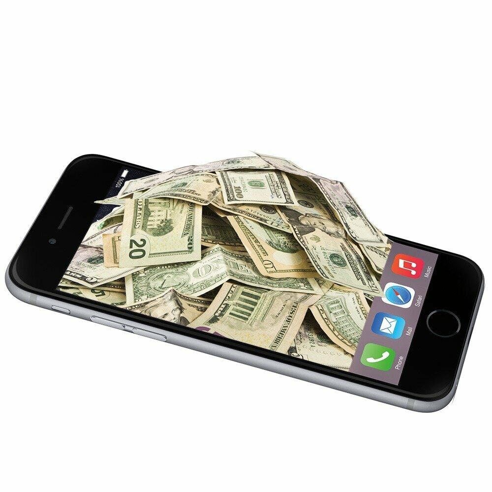 фотографии денег из телефона можно любую