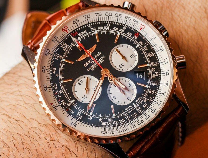 Часы Breitling Navitimer в Железнодорожном