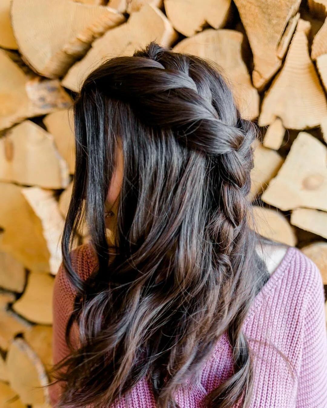 Long hair for teens