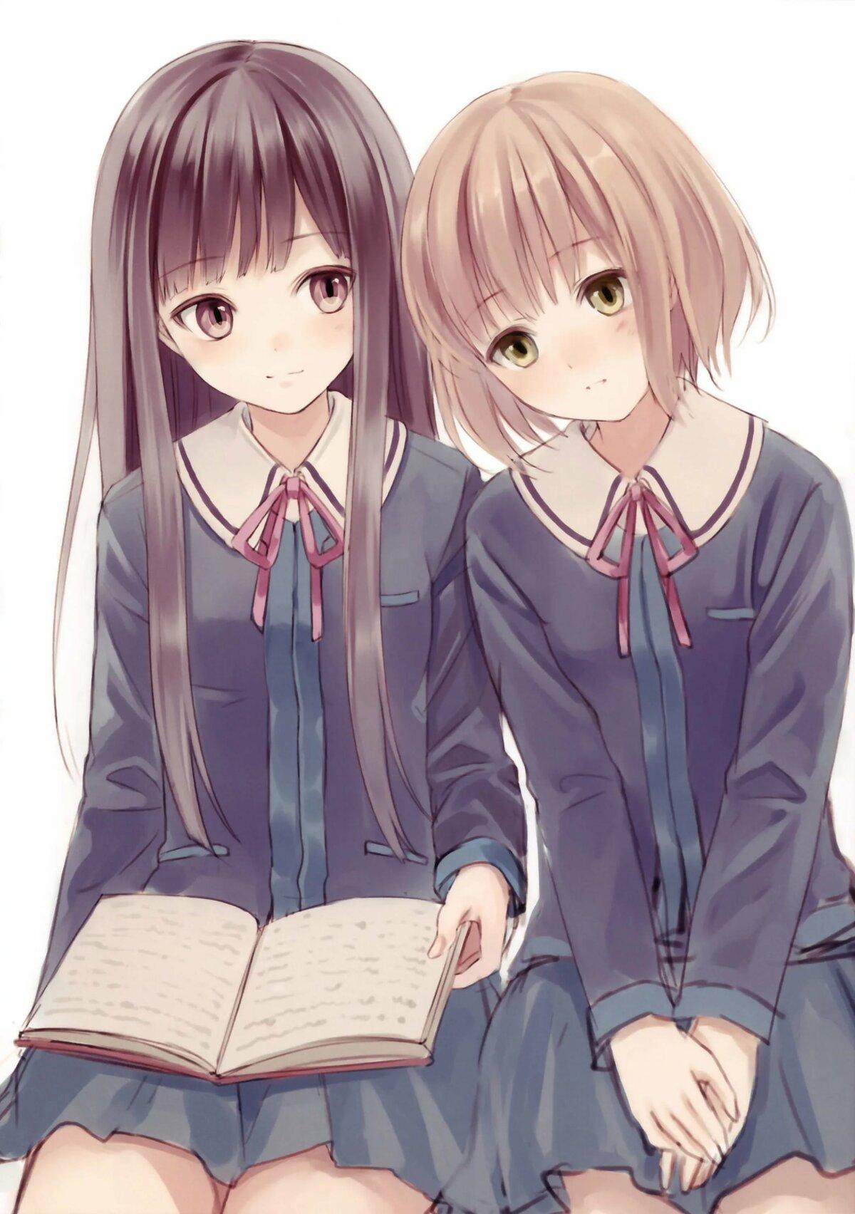 Картинки для подруги аниме, пожеланиями спокойной