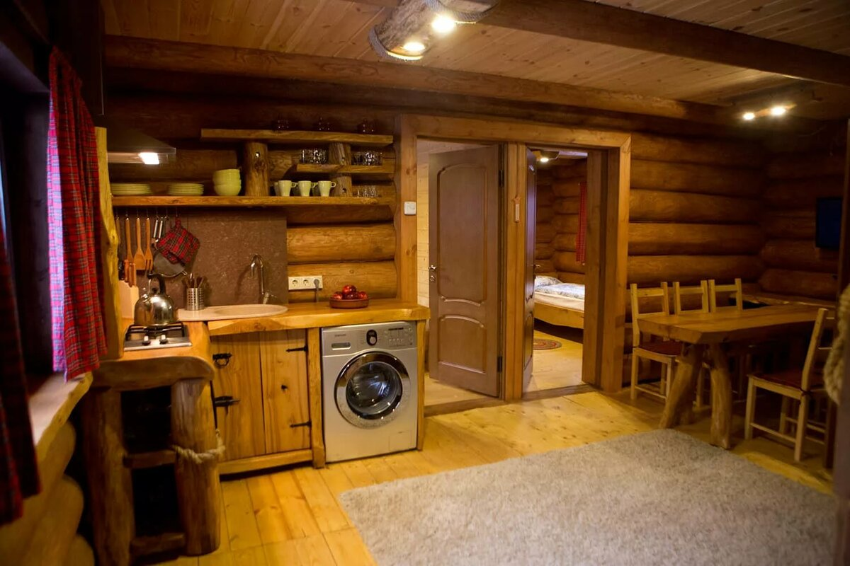 для тех, обычный дом в лесу фото внутри лишь