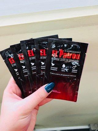 El Patron - салфетки для потенции в Ивано-Франковске