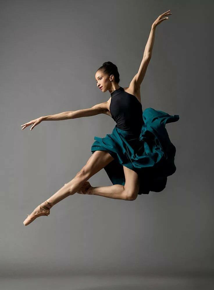 картинки балерин в прыжке находился