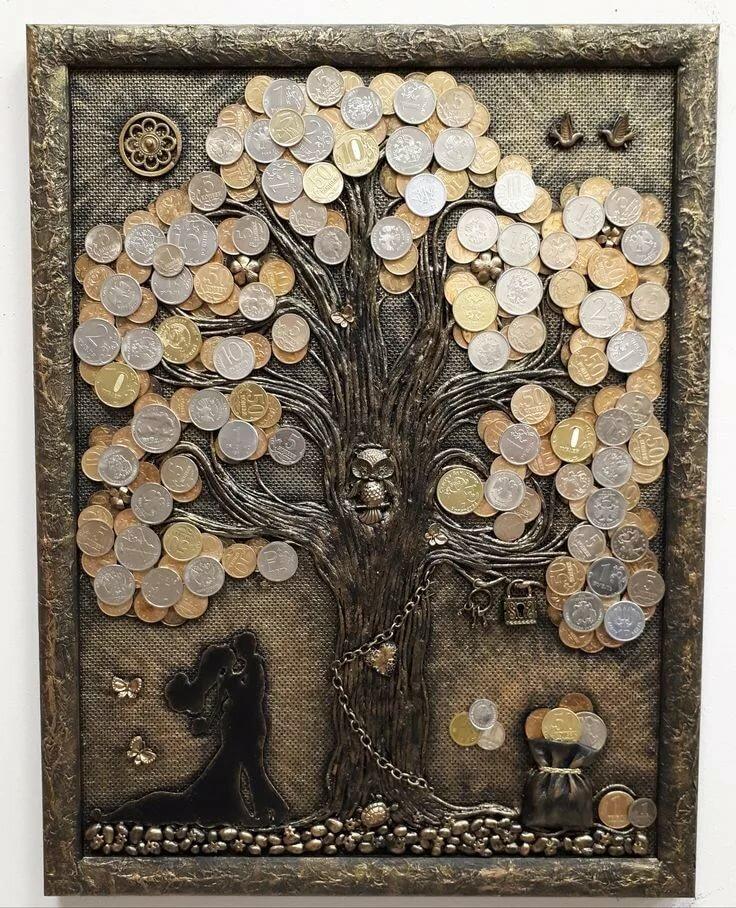 видео картинки дерево с монетами больше света