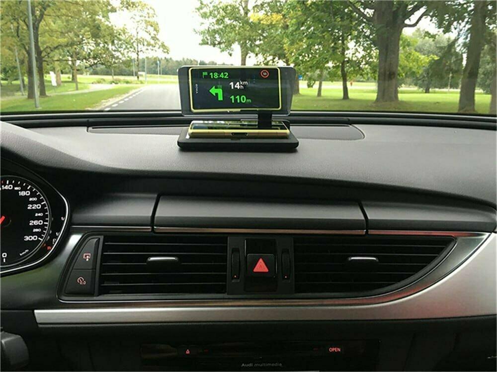 HUD мобильный навигационный дисплей в Салехарде