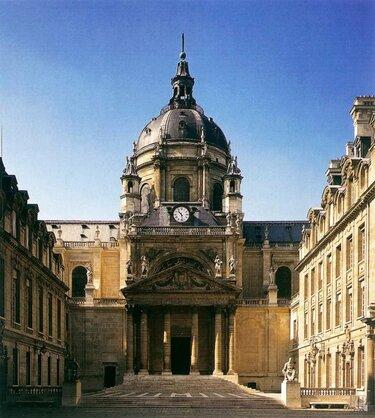 церковь сорбонны (1629-1656, архитектор ж. лемерсье)