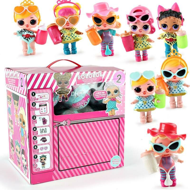 Куклы лол в наборах картинки, девушке день рождения