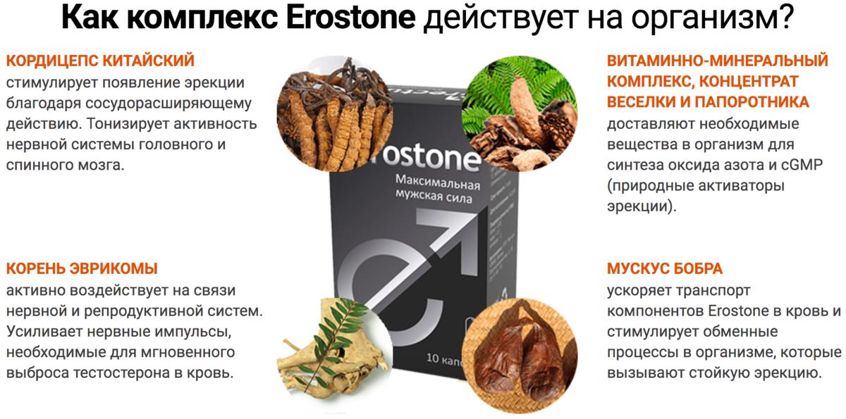 Erostone для потенции в Санкт-Петербурге