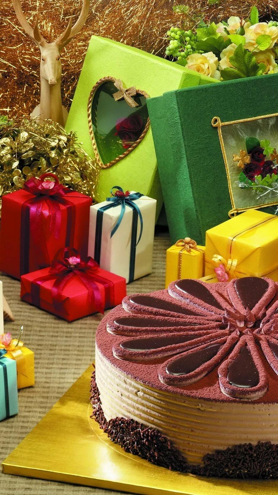 картинки цветы подарки торт гаджеты