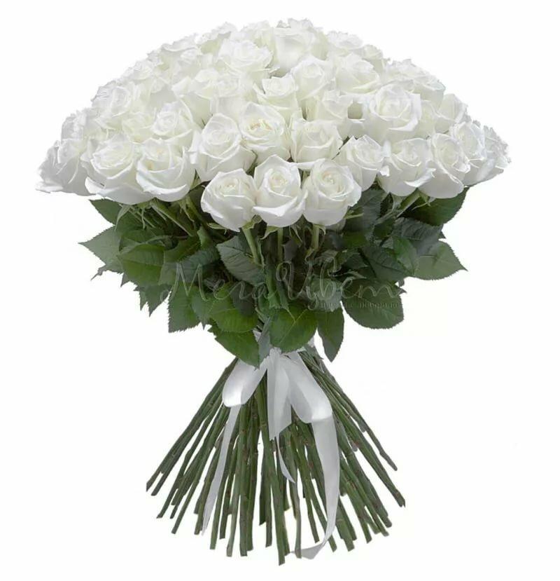 картинка букет с белыми розами чем