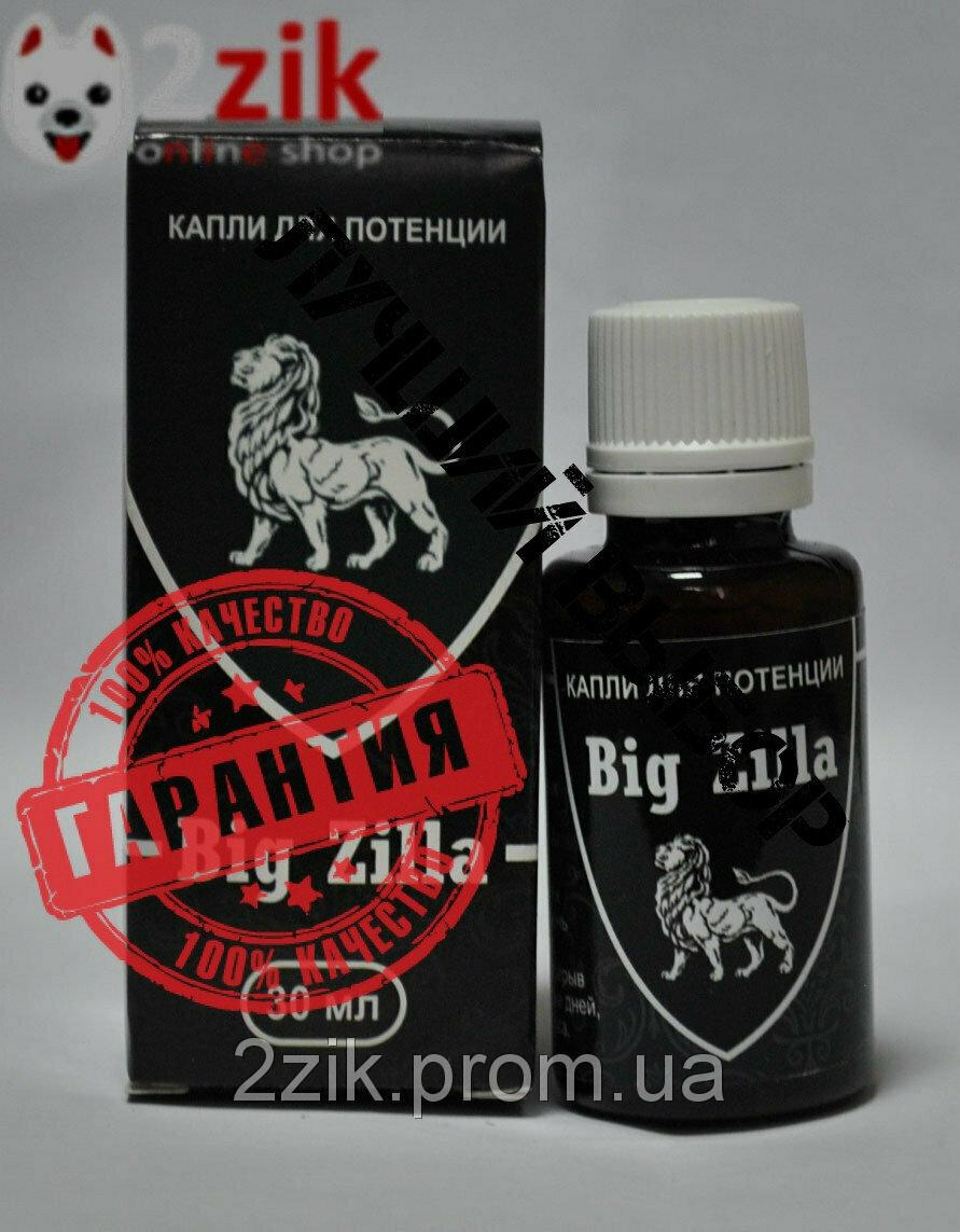 Big Zilla - капли для потенции в Жуковском
