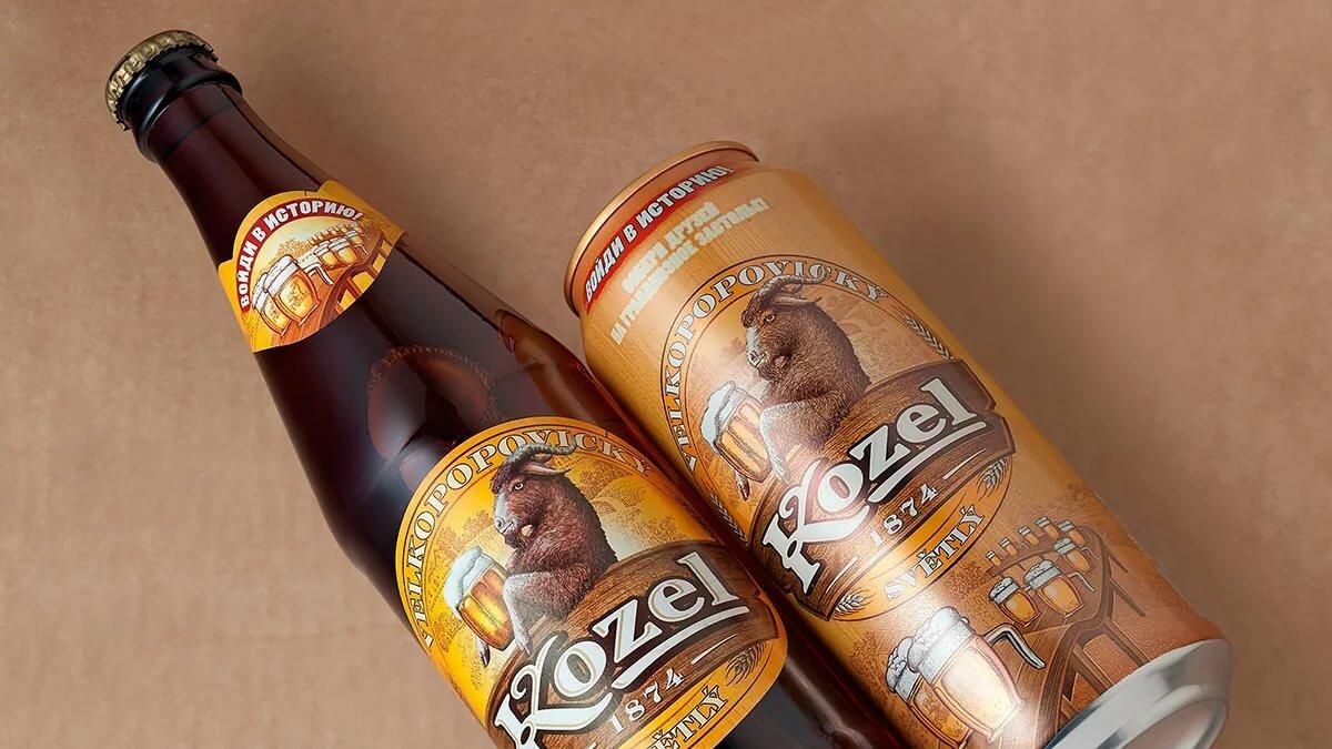 Пиво козел в картинках