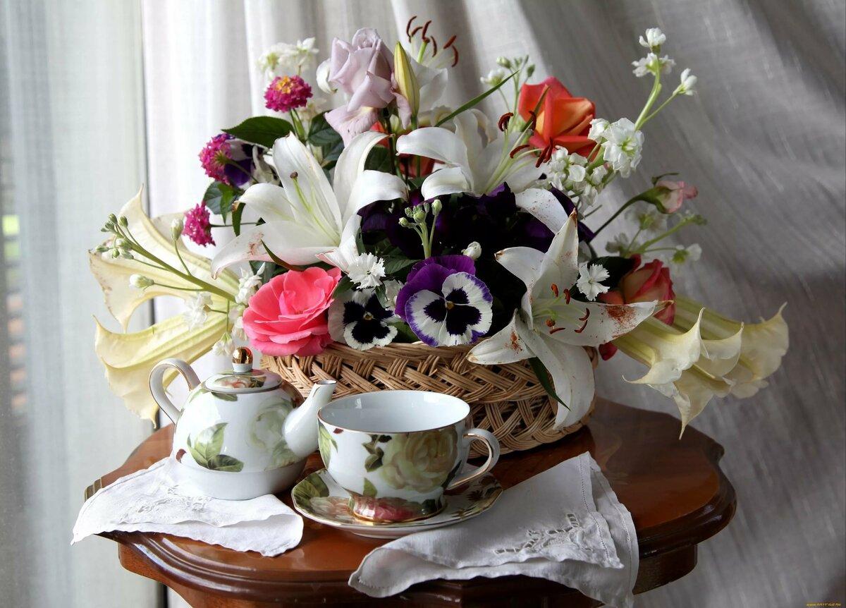 Красивые фото цветов доброго утра выбрать