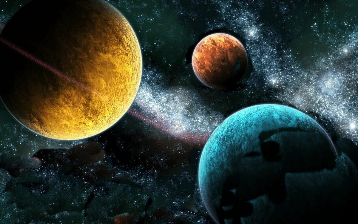 все картинки или фотки планет всех потом все