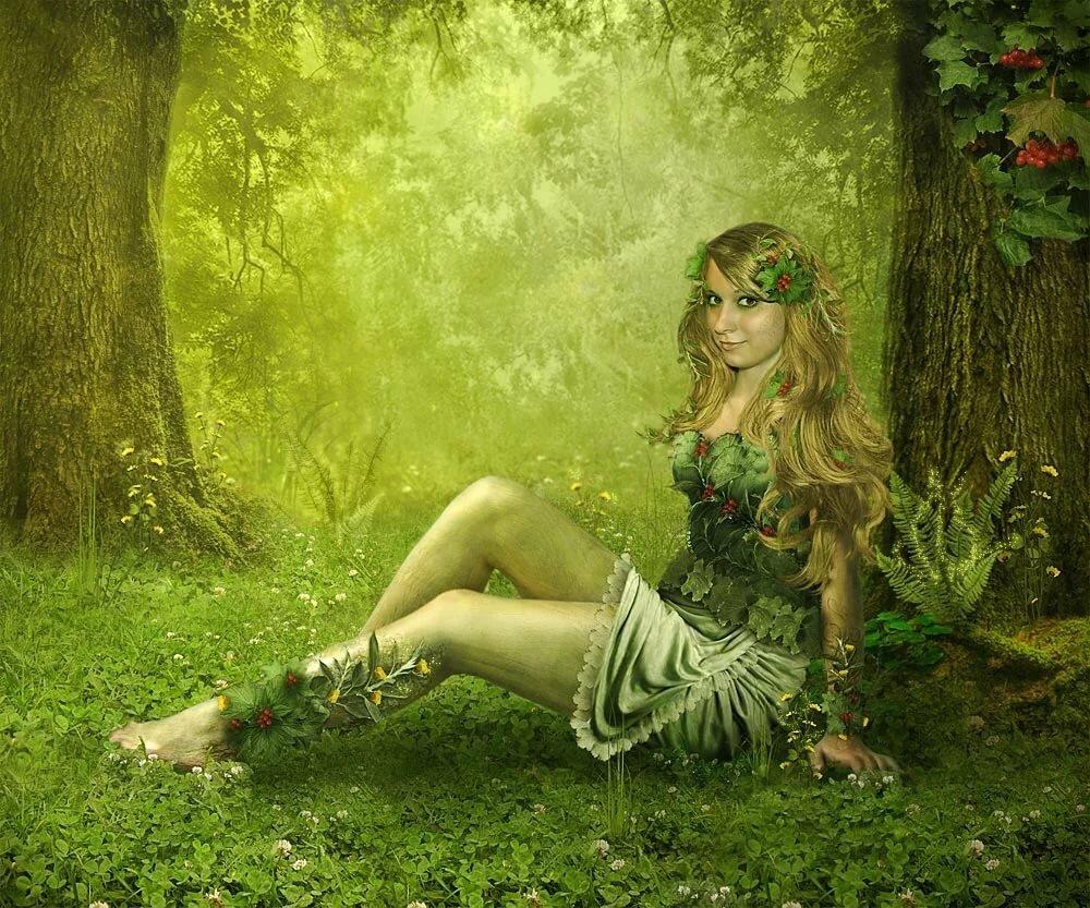 Сказочные картинки нимфы